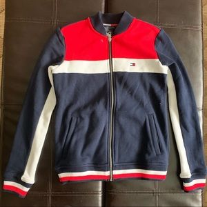 NWT Tommy Hilfiger Color Block Baseball Jacket